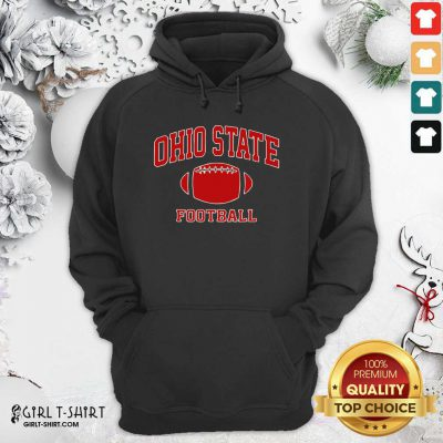 Ohio State Football OH Vintage Varsity Style Hoodie - Design By Girltshirt.com