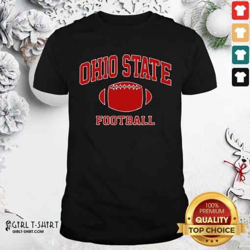 Ohio State Football OH Vintage Varsity Style Shirt - Design By Girltshirt.com