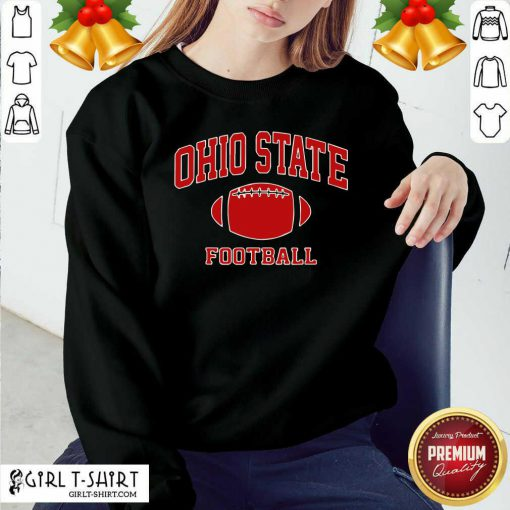 Ohio State Football OH Vintage Varsity Style Sweatshirt - Design By Girltshirt.com