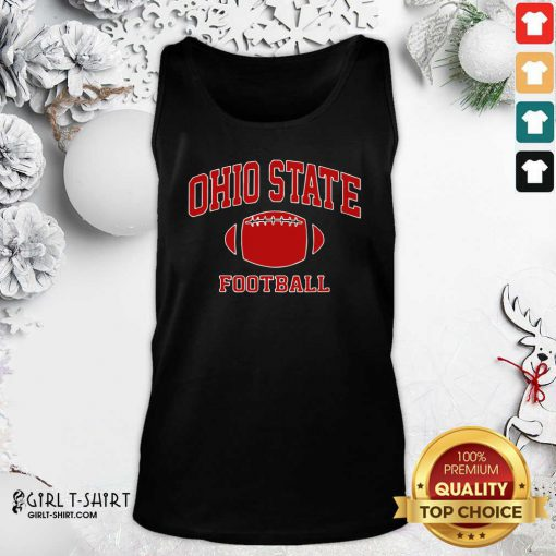Ohio State Football OH Vintage Varsity Style Tank Top - Design By Girltshirt.com