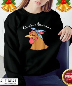Chicken Grandma Sweatshirt - Design By Girltshirt.com