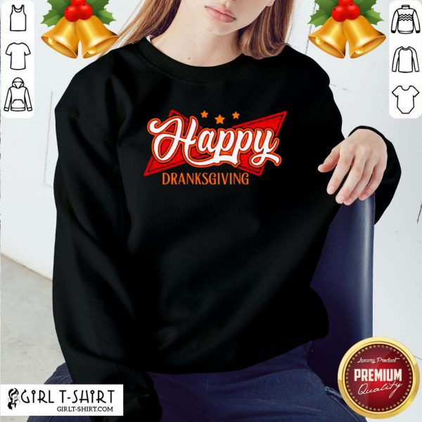 Original Happy Drinksgiving Sweatshirt- Design By Girltshirt.com
