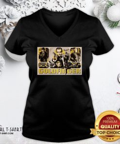 Other James Bond 007 Goldfinger V-neck- Design By Girltshirt.com