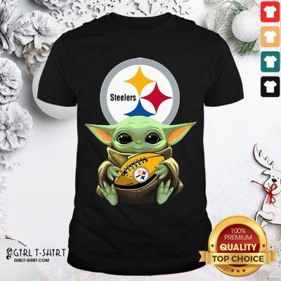 Perfect Baby Yoda Star Wars Steelers Shirt- Design By Girltshirt.com