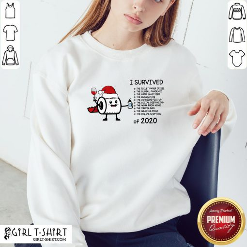 Perfect Toilet Paper I Survived The Global Pandemic Of 2020 Christmas Sweatshirt - Design By Girltshirt.com