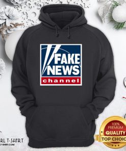 Premium Fake News Channel Hoodie - Design By Girltshirt.com