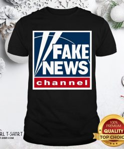Premium Fake News Channel Shirt - Design By Girltshirt.com