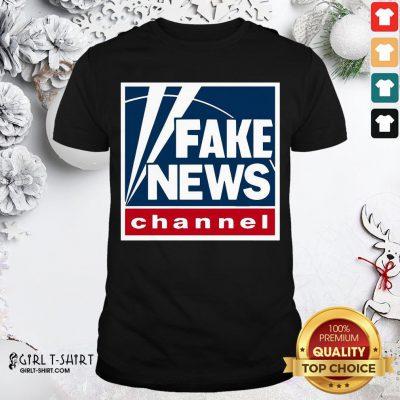 Premium Fake News Channel Shirt - Design By Girltshirt.com