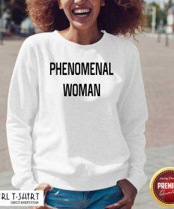 Phenomenal Woman V-neck - Design By Girltshirt.com