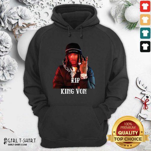 Rip King Von 1994-2020 Hoodie - Design By Girltshirt.com