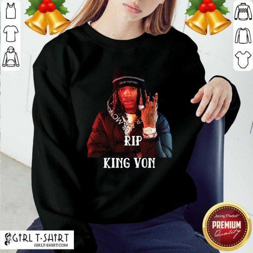 Rip King Von 1994-2020 Sweatshirt - Design By Girltshirt.com