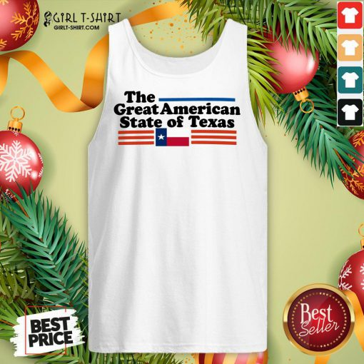 Premium The Great American State Of Texas Tank Top- Design By Girltshirt.com