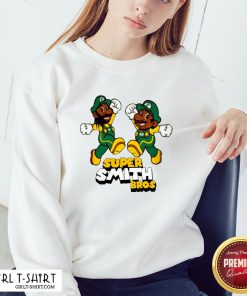 Pretty Super Smith Bros Sweatshirt - Design By Girltshirt.com