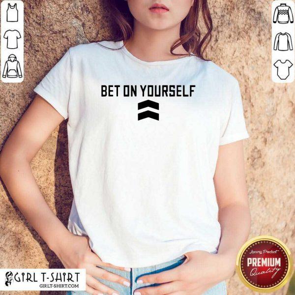 Bet On Yourself Toronto Basketball T-Shirt - Design By Girltshirt.com