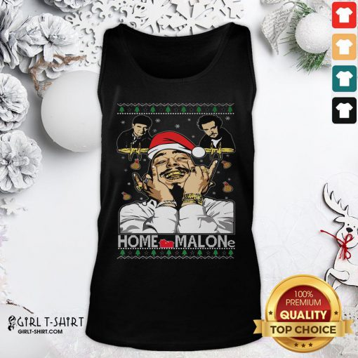 Town Home Malone Ugly Christmas 2021 Tank Top - Design By Girltshirt.com