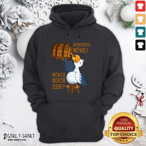 Undo Unique Apropos Mowe Mowie Nor A Hoodie- Design By Girltshirt.com