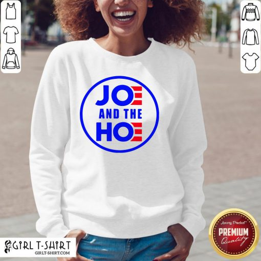 Well Funny Joe And The Hoe V-neck- Design By Girltshirt.com