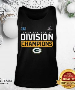 Awesome 2020 NFC North Division Champion Green Bay Packers Tank Top- Design By Girltshirt.com