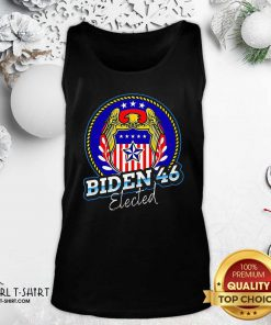 Biden 46 Elected 46Th President Tank Top- Design By Girltshirt.com