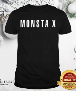 Monsta X Merch Monsta X Llogo Shirt - Design By Girltshirt.com