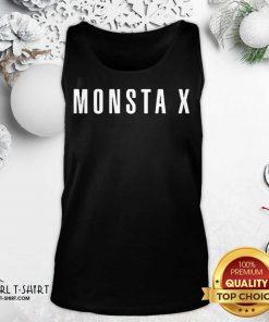 Monsta X Merch Monsta X Llogo Tank Top- Design By Girltshirt.com