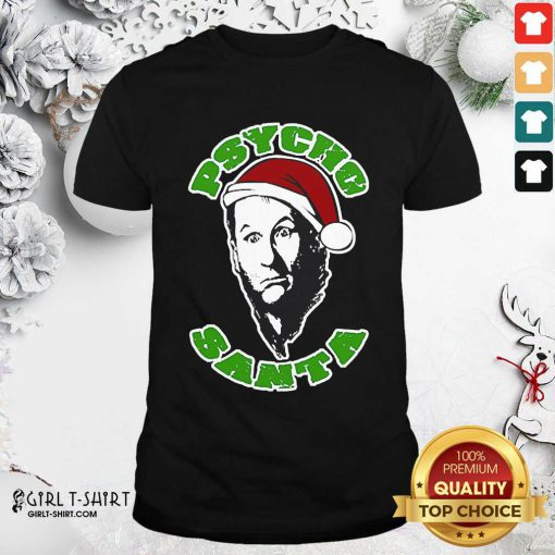 Psycho Santa Christmas Shirt - Design By Girltshirt.com