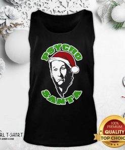 Psycho Santa Christmas Tank Top - Design By Girltshirt.com
