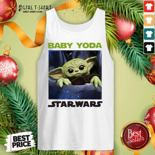 Baby Yoda Star Wars Tank Top- Design By Girltshirt.com