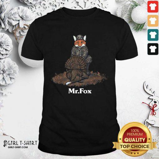 Mr Fox Shirt - Design By Girltshirt.com