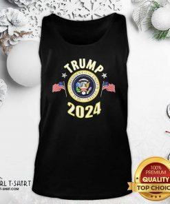 Trump 2024 Presidential Seal Flag Us Tank Top - Design By Girltshirt.com
