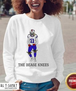 Buffalo Bills Cole Beasley The Bease Knees V-neck- Design By Girltshirt.com