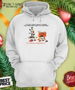 It's Not About What's Under The Christmas Tree That Matters Cat Who Around It For Cat Lover Hoodie- Design By Girltshirt.com