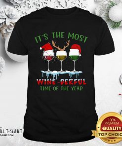 Its The Most Wine Derful Time Of The Year Merry Christmas Light Shirt - Design By Girltshirt.com