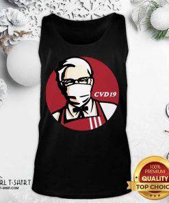 KFC Cvd 19 Tank Top - Design By Girltshirt.com