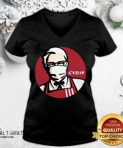 KFC Cvd 19 V-neck - Design By Girltshirt.com