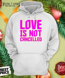 Lisa Power love Is Not Cancelled Hoodie- Design By Girltshirt.com