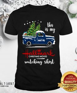 Seattle Seahawks This Is My Hallmark Christmas Movies Watching Shirt - Design By Girltshirt.com