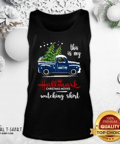 Seattle Seahawks This Is My Hallmark Christmas Movies Watching Tank Top - Design By Girltshirt.com