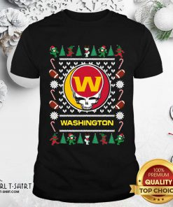 Washington Football Team Grateful Dead Ugly Christmas Shirt- Design By Girltshirt.com