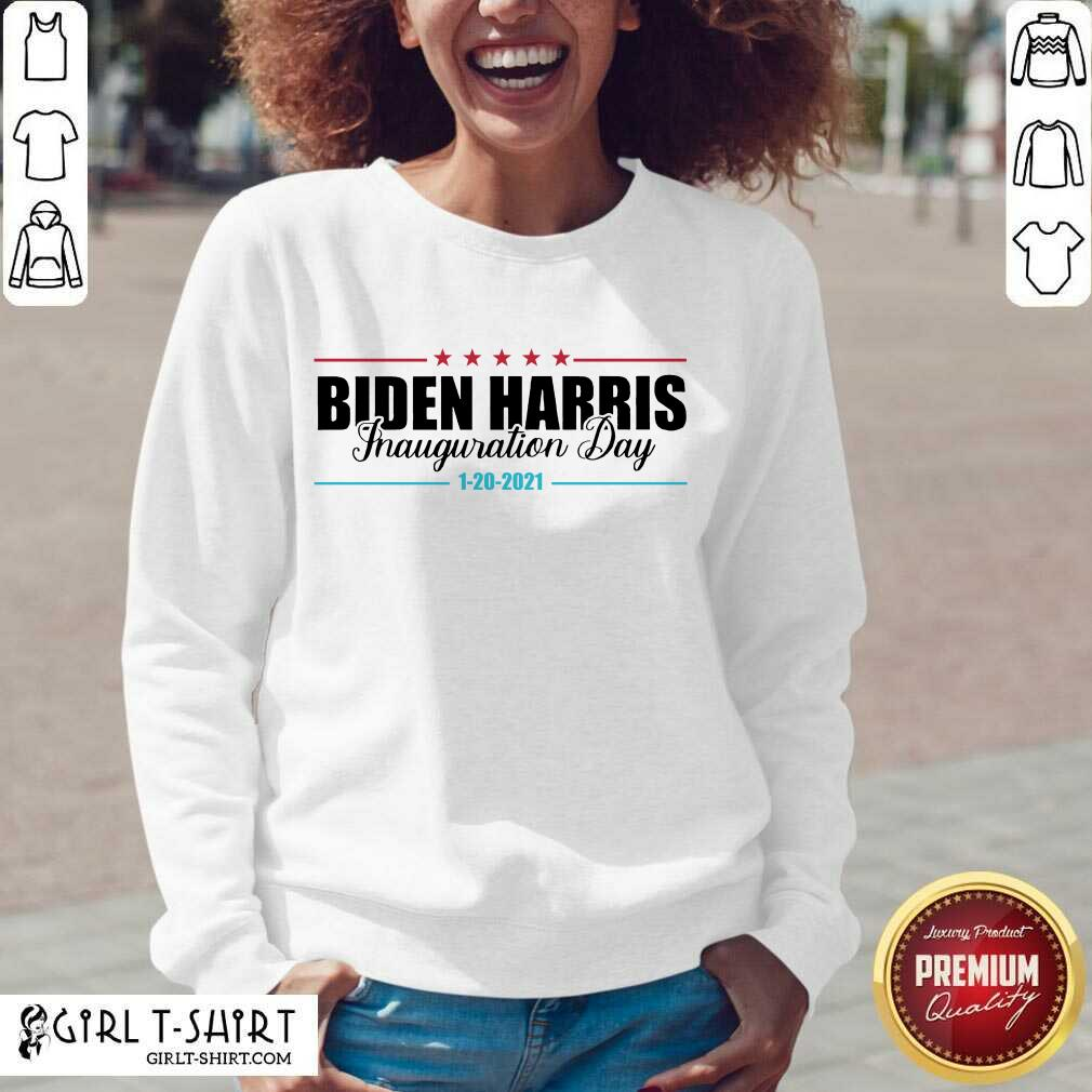 =Biden Harris Inauguration Day 1 20 2021 V-neck- Design By Girltshirt.com