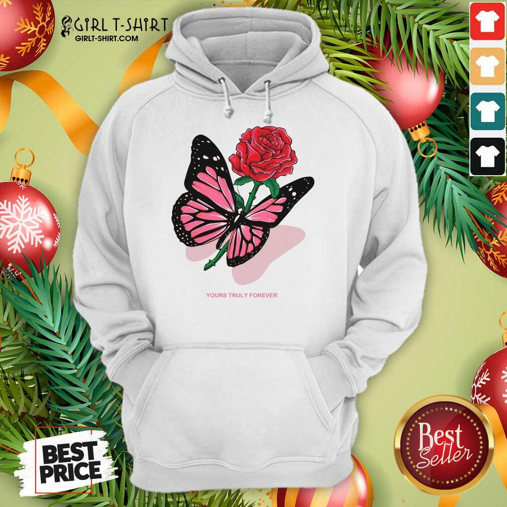 Phora Merch Butterfly Love Song Pink Hoodie - Design By Girltshirt.com