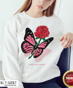 Phora Merch Butterfly Love Song Pink Sweatshirt - Design By Girltshirt.com