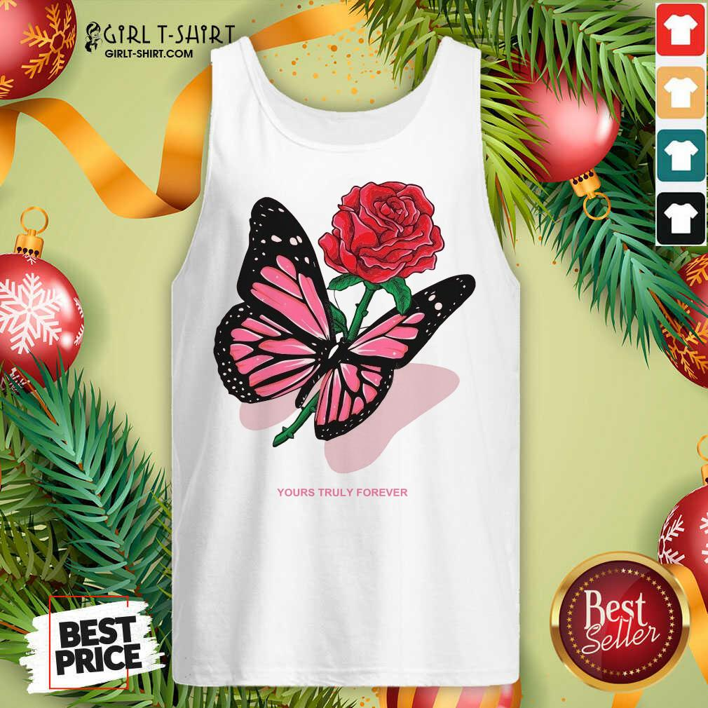Phora Merch Butterfly Love Song Pink Tank Top- Design By Girltshirt.com