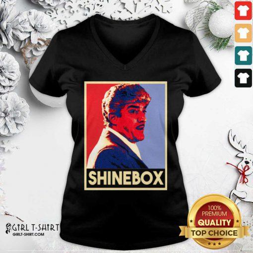 Shinebox Goodfellas Gangster Billy Batts V-neck - Design By Girltshirt.com
