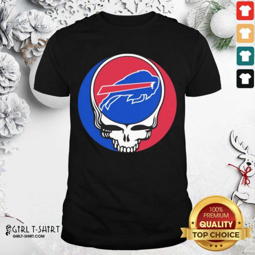 Grateful Dead Buffalo Bills Shirt- Design By Girltshirt.com