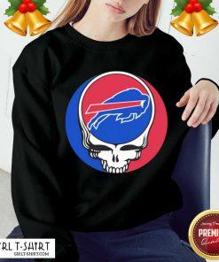 Grateful Dead Buffalo Bills Sweatshirt- Design By Girltshirt.com