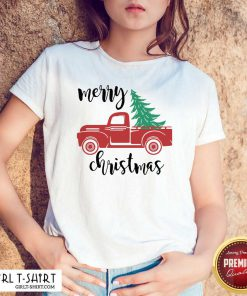 Merry Christmas Truck Christmas Shirt - Design By Girltshirt.com