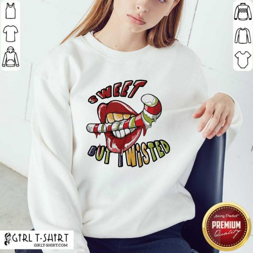 Cool Mouth Sweeat But Wisted Sweatshirt - Design By Girltshirt.com