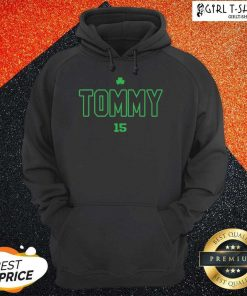 Tommy Tribute 15 Hoodie- Design By Girltshirt.com