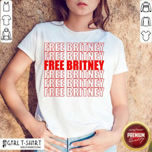 Free Britney Red Shirt- Design By Girltshirt.com